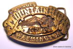 Belt Buckle Cascades Mountain High Washington 1976