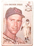 Click here to enlarge image and see more about item bbt5: Joe Coleman baseball card 1954 Topps #195