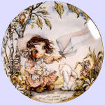 Click to view larger image of 'Children Of The Seasons' Jody Bergsma plate set (Image4)