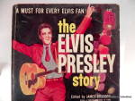 Click to view larger image of 'The Elvis Presley Story' vintage book 1960 (Image2)