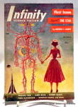 Click here to enlarge image and see more about item bkfnty2: 'Infinity' Science Fiction vol.1, #1 First  Edition mag