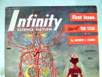 Click to view larger image of 'Infinity' Science Fiction vol.1, #1 First  Edition mag (Image2)