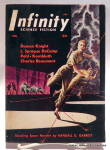 Click here to enlarge image and see more about item bkifnty1: 'Infinity' Science Fiction mag vol. 1, #2, Second issue