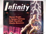 Click to view larger image of 'Infinity' Science Fiction mag vol. 1, #2, Second issue (Image2)