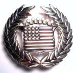 Click to view larger image of Belt Buckle Cadillac American Flag  (Image1)