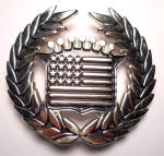 Click to view larger image of Belt Buckle Cadillac American Flag  (Image2)