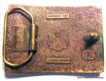 Click to view larger image of Belt Buckle Vintage Horse  (Image2)