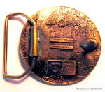 Click to view larger image of Belt Buckle Hunters design vintage (Image2)
