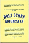 Click here to enlarge image and see more about item bkstnmtn: 'Holy Stone Mountain' rare vintage book