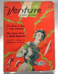 Click here to enlarge image and see more about item bkventure5: 'Venture' vintage Science Fiction magazine 1957