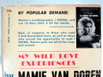 Click to view larger image of My Wild Love Experiences, Mamie van Doren vintage book (Image3)