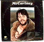 Click here to enlarge image and see more about item blp11: Paul McCartney 'McCartney' LP Record Album
