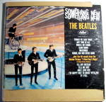 Click to view larger image of Something New - The Beatles vintage lp vinyl record (Image1)