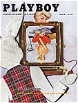 Playboy Vintage Magazine January 1956