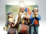 Click here to enlarge image and see more about item br5: McCormick Musical whiskey decanter 'The Spirit of 1776'
