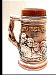 Click here to enlarge image and see more about item brw30: Mount Rushmore South Dakota Beer Stein