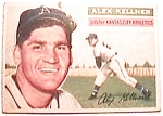 Click here to enlarge image and see more about item btc2: Alex Kellner baseball card 1956 Topps #176