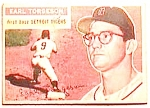 Click here to enlarge image and see more about item btc9: Earl Torgeson baseball card 1956 Topps #147