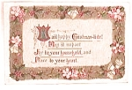 Click to view larger image of Antique Vintage Christmas Postcard 1911 (Image1)