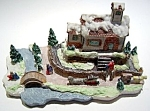 Click here to enlarge image and see more about item chr5: Vintage Christmas winter scene figurine
