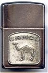 Click here to enlarge image and see more about item ciglzip11: Zippo Camel cigarette lighter