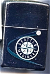 Click here to enlarge image and see more about item ciglzip12: Zippo Seattle Mariners cigarette lighter