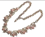 Click to view larger image of Goldstone Vintage Necklace (Image1)