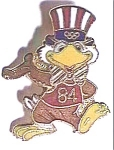 Click to view larger image of Sam the Eagle 1984 Olympic pin (Image1)