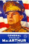 Click here to enlarge image and see more about item cm6: General Douglas MacArthur comic magazine 1944