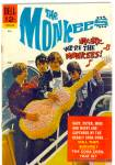 Click here to enlarge image and see more about item cmmks2: 'The Monkees'  #2, rare second issue vintage comic 1967