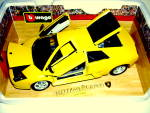 Click to view larger image of Lamborghini Murcielago die cast 1/18 scale model car (Image3)