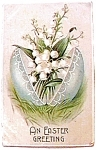 Click to view larger image of An Easter Greeting Postcard 1909 (Image1)