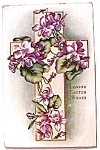 Click to view larger image of Loving Easter Wishes Postcard 1916 (Image1)