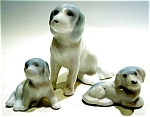 Vintage Dog figurines set