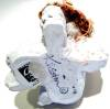 Click to view larger image of Dreamsicles sitting Christmas angel ceramic figurine (Image3)