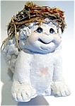Click here to enlarge image and see more about item fig37cher: Dreamsicles Smiling angel ceramic figurine
