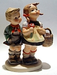 Click to view larger image of Genuine vintage Hummel figurine 'To Market' (Image1)