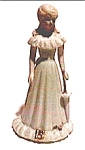 Click here to enlarge image and see more about item fpm11: Vintage fifteen year old girl ceramic figurine