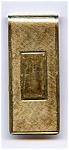 Click here to enlarge image and see more about item jfmc1a: 14K Gold Vintage Money Clip
