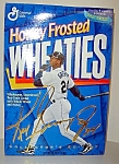 Click here to enlarge image and see more about item kgjb1: Ken Griffey Jr. unopened cereal box 1996