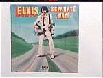 Click here to enlarge image and see more about item lp15: Elvis Presley  Separate Ways LP Record