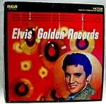 Click here to enlarge image and see more about item lp17: Elvis Presley  Elvis Golden Records 1958