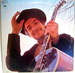 Click here to enlarge image and see more about item lpbd11: Bob Dylan 'Nashville Skyline' vintage lp record 1969