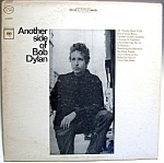 Click here to enlarge image and see more about item lpbd5: 'Another Side of Bob Dylan' lp vintage record 1965
