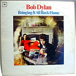 Bob Dylan 'Bringing It All Back Home' vintage lp record