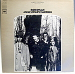 Click here to enlarge image and see more about item lpbd8: Bob Dylan 'John Wesley Harding' vintage lp record 1968