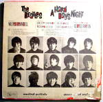 Click to view larger image of Beatles 'A Hard Day's Night' vintage vinyl lp 1964 (Image2)