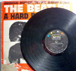 Click to view larger image of Beatles 'A Hard Day's Night' vintage vinyl lp 1964 (Image3)