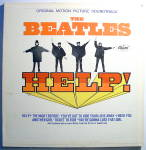 Click here to enlarge image and see more about item lpbtlhlp2: Beatles 'Help' vintage mono vinyl lp 1965
