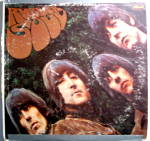 Click here to enlarge image and see more about item lpbtlrbrsl1: Beatles 'Rubber Soul' vintage vinyl lp record